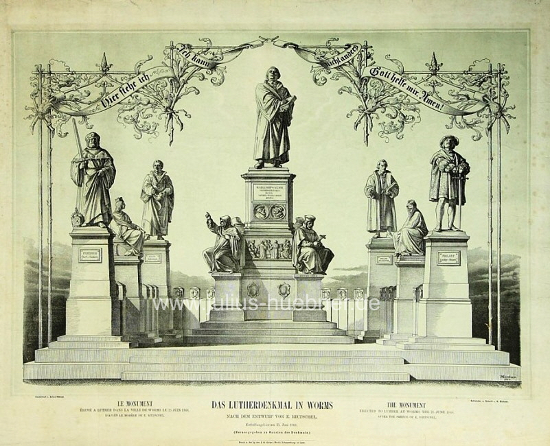 1860 Lutherdenkmal Worms